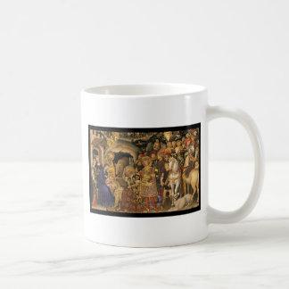 Mug Adoration des Magi du 14ème siècle