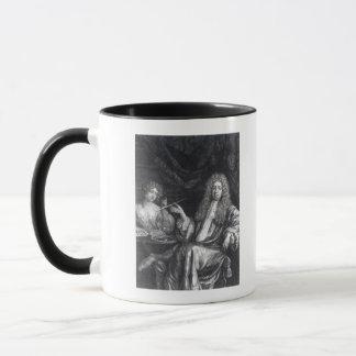 Mug Adrian Beverland, gravé par Isaac Beckett