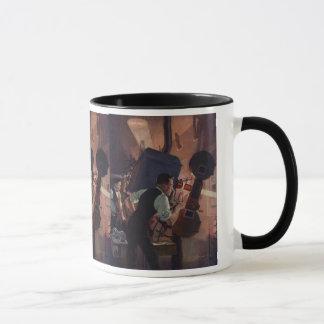 Mug Affaires vintages, projectionniste de salle de