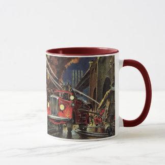 Mug Affaires vintages, sapeurs-pompiers de pompiers de