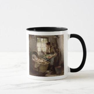 Mug Affection maternelle (huile sur la toile)