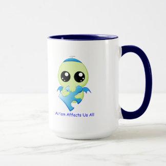 Mug Affects d'autisme - bébé Cthulhu