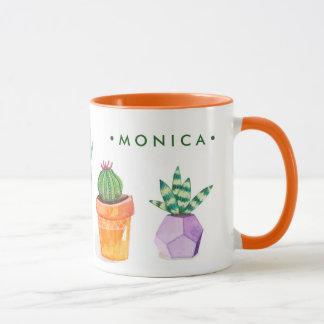 Mug Affichage succulent