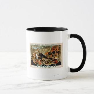 Mug Affiche de théâtre musical de Faust
