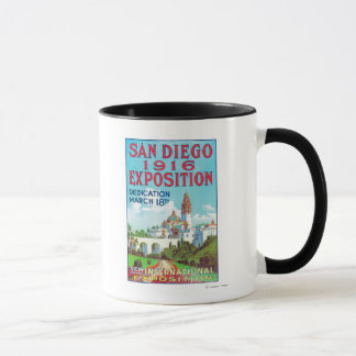 Mug Affiche internationale d'exposition de San Diego