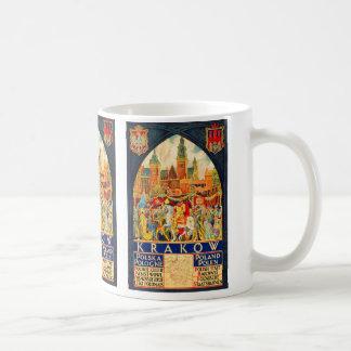 Mug Affiche vintage polonaise de voyage