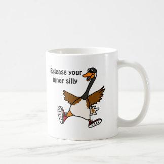 Mug AG libérez votre idiot intérieur - oie