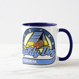 Mug Agilité de Yorkie de base-ball