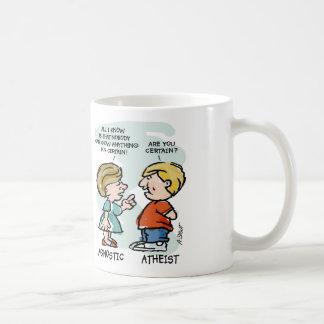 Mug Agnostique contre l'athée