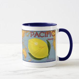 Mug Agrume Pacifique de citron de fruit de caisse
