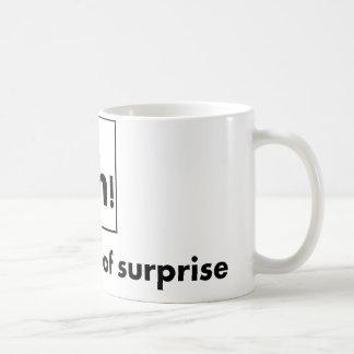 Mug Ah - l'effet de surprise