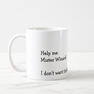 Mug Aidez-moi Monsieur Wizard