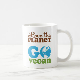 Mug Aimez la planète vont végétalien