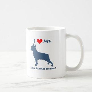 Mug Aimez mon Boston bleu Terrier