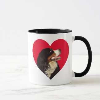 Mug Aimez mon chien de montagne de Bernese