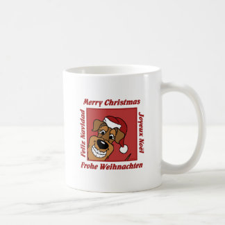 Mug Airedale Noël
