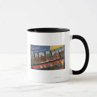 Mug Albany, New York - grandes scènes de lettre