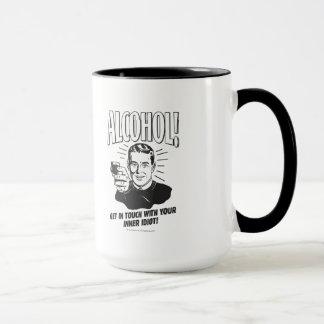 Mug Alcool : Obtenez le contact avec l'idiot intérieur