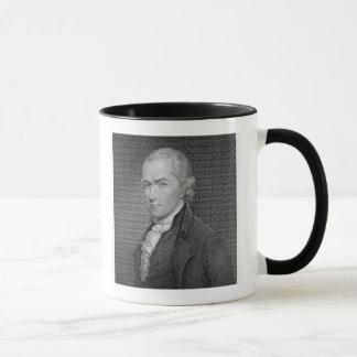 Mug Alexander Hamilton (1757-1804) gravé par John