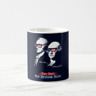 Mug Alexander Hamilton, George Washington - trop cool