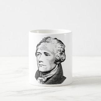 Mug Alexander Hamilton - graphique de père fondateur