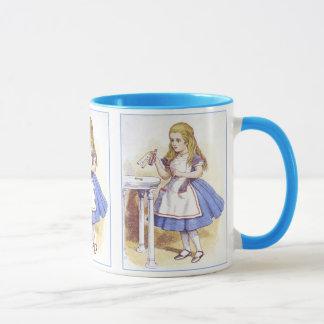 Mug Alice au pays des merveilles - buvez-moi - Tenniel