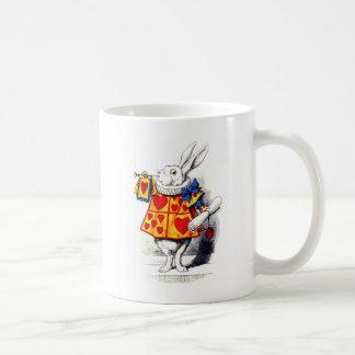 Mug Alice au pays des merveilles le lapin blanc par
