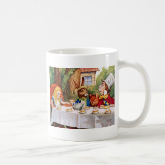 Mug Alice au thé du chapelier fou au pays des