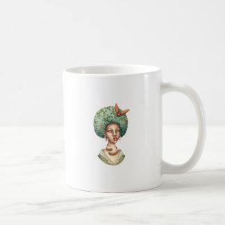 Mug Allez avec pour - Madame avec l'art unique d'Afro