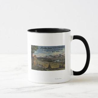 Mug Allo (scène de montagne et de prairie)