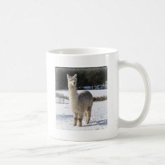 Mug Alpaga dans la neige