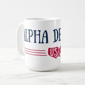 Mug Alpha delta pi - Etats-Unis