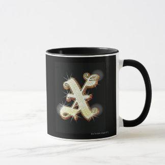 Mug Alphabet X de Bling