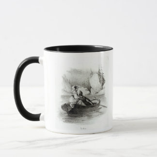 Mug Alphonse de Lamartine et Elvire