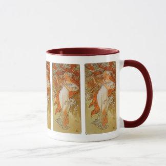 Mug Alphonse Mucha - art Nouveau - ressort
