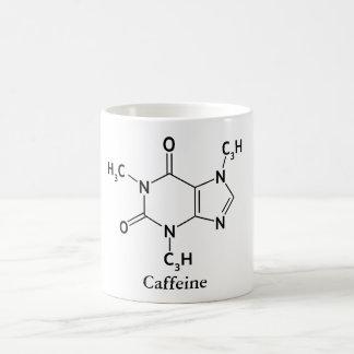 Mug Amants de café de chimie de molécule de caféine