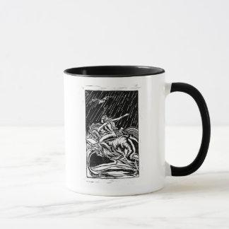 """Mug Amazone, """"vont avec confiance dans la direction de"""