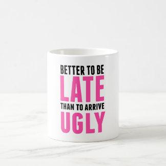 Mug Améliorez pour être en retard que