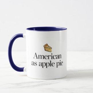 Mug Américain comme tarte aux pommes
