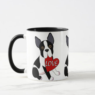 Mug Amour de Boston Terrier