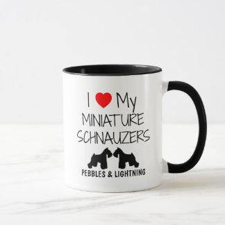 Mug Amour de la coutume I mes deux Schnauzers