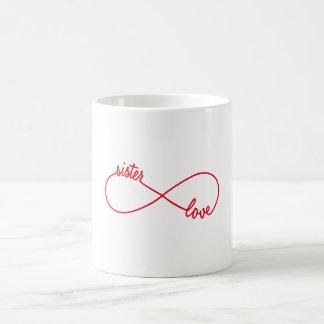 Mug Amour de soeur, signe d'infini