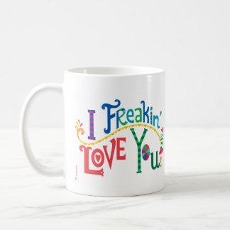 Mug Amour du freakin I vous