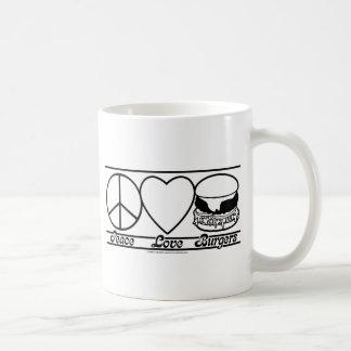 Mug Amour et hamburgers de paix