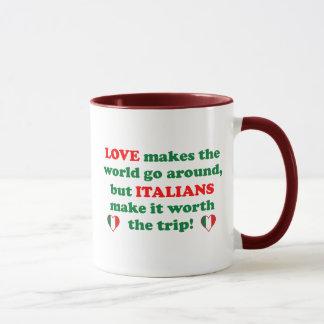 Mug Amour italien
