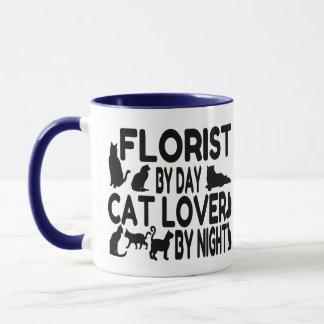 Mug Amoureux des chats de fleuriste