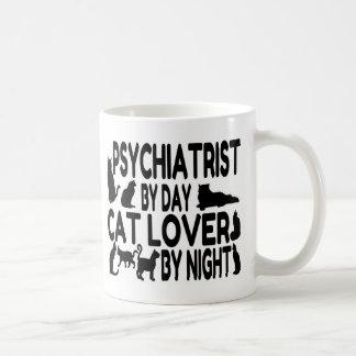 Mug Amoureux des chats de psychiatre