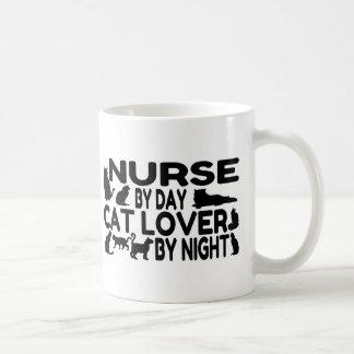 Mug Amoureux des chats d'infirmière