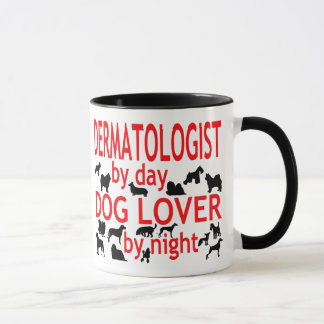 Mug Amoureux des chiens de dermatologue