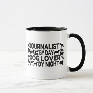 Mug Amoureux des chiens de journaliste